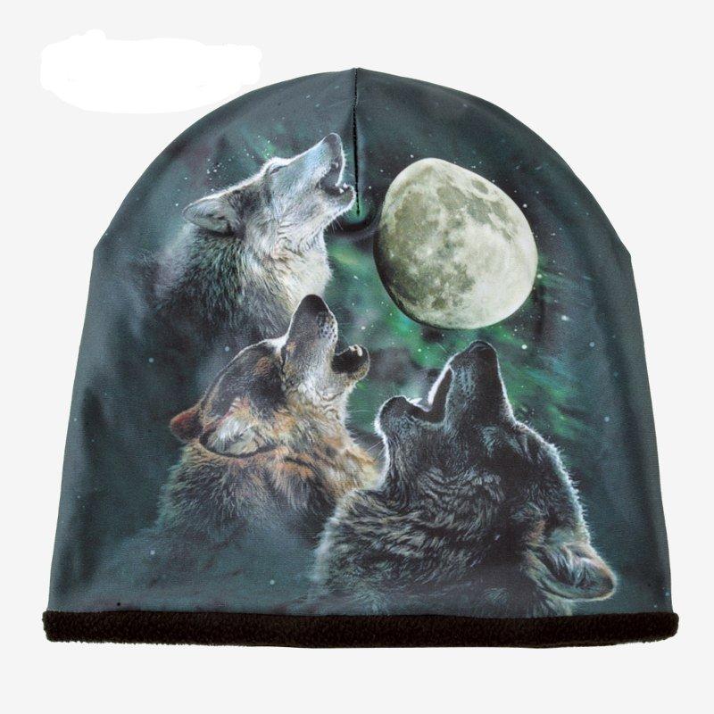 Gorros de invierno lobos